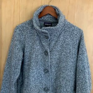 Patagonia Better Sweater A-line button up jacket
